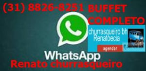 WhatsApp do churrasco