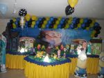 Festa do Davi ( 3º ano conosco) em Minions 07/11/15