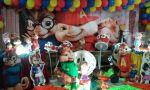 Festa do Henrique e Heitor em Alvin os Esquilos 21/02