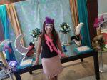 14/04 Adriana Cristina Furlan comemorando seu aniversário em máscaras