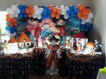 14/04/18 Segunda Festa Dante , Nuno e Theo em Dragon Ballz Parabéns garotões!!!