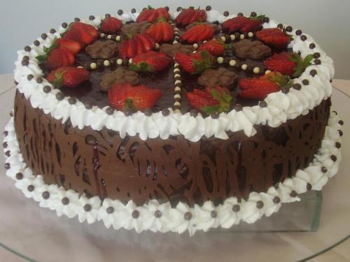 de falsa torta crocante torta mousse de maracujá torta mousse de
