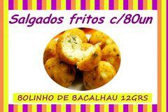 BOLINHO DE BACALHAU FRITO 12GRS C/80UN