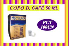 COPO 50ML DESCARTÁVEL  C/100UN
