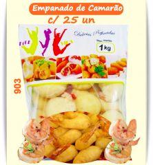 S. VIP EMPANADO DE CAMARÃO C/ CATUPIRY C/25UN