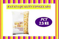 BATATA CONGELADA QUALITY 2,5KG