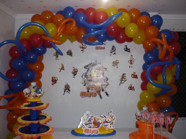 decoracao festa naruto:Só Decoração CLIQUE AQUI!!! – SANDRINHA FESTAS E EVENTOS