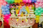 Princesas no provençal Kit das Princesas: R$ 120,00 Mesa : R$ 50,00  Mesa borbolela para bolo: R$ 50,00 Trio de Mesas: R$ 120,00 Kit Provençal: R$ 85,00