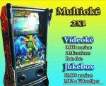 Videokê + Jukebox 9.000 músicas para cantar ( c/ catálogo ) 85.000 músicas no Jukebox. 2 microfones Entrada HDMI ( caso queira colocar outro monitor ). R$190,00 (5 horas de festa ). *Para alguns bairros o frete é grátis.