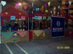 Festa Junina Empresarial - Barracas com comidas típicas