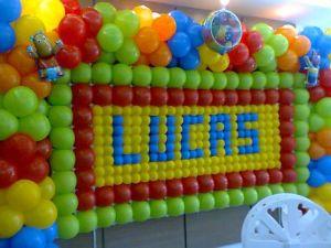 Assis Festas decora��o com bal�es