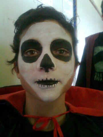 Maquiagem de halloween monstros assis festas bal es e - Pintura cara halloween ...