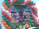 arco festa infantil