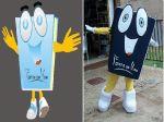 Mascote Fonte da Vida - Goiania- GO