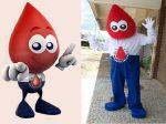 Mascote Sangue Bom - Hemoclínica - Brasília - DF