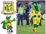 Mascote Jacaré - Brasiliense Futebol Clube - Brasília -  DF
