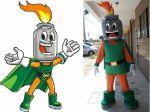 Mascote Nidigás - São Luis - MA