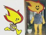 Mascote supergasbras - Supergasbras - Brasília DF