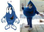 Mascote Gotinha - Água de Cheiro - Brasília DF
