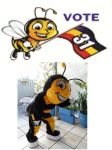 Mascote do Partido PHS - Betim - MG