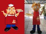 Mascote Comic Pizza - São Luiz - MA