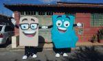 Mascotes colchão e sofá (casa nova cor) DF