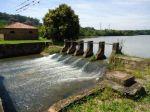 A primeira represa do Brasil.