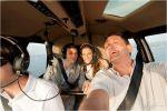 Thailis & Benjamin 14/02/2013 - Os noivos chegando de helicóptero em Sirinhaem