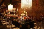 Mesa linda para receber os convidados - Casamento Janaline & Williams 21/02/2015