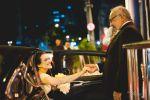 Noiva Pollyana sendo recebida na igreja por seu pai 13/06/2015