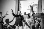 Saída dos noivos - Aline & Brunello 28/08/2015