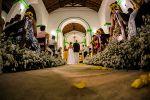 Capela de São Benedito, Praia dos Carneiros - Casamento de Aline & Brunello 28/08/2015