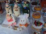 exposi��o de meus Biscuit Vania Arts em Feira Hippie campinas Banca 94 .
