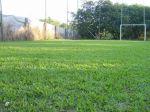 campo socyt todo gramado com iluminaçao noturnapara eventos como casamantos