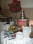 Cascata de chocolate buffet laguna