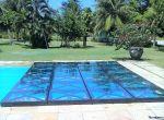 Tablado de vidro para piscina 1 Linha
