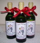 Mini Vinhos Personalizados.
