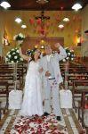 Alexandre e Juliane, que o amor que os uniu seja eterno. Felicidades ao casal!  Com carinho de nossa equipe Cerimonial M.Muller