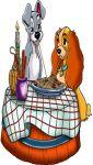 a dama e o vagabundo cenario de chao toten display mdf dkorinfest (2)