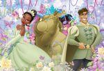 a princesa e o sapo painel festa infantil banner (3)