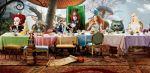 alice no país das maravilhas painel festa infantil banner (17)