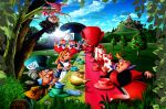alice no país das maravilhas painel festa infantil banner (9)