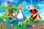alice no país das maravilhas painel festa infantil banner (8)