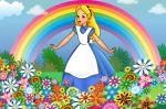 alice no país das maravilhas painel festa infantil banner (3)