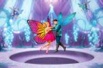 Barbie Butterfly E A Princesa Fada painel festa infantil banner (8)