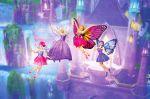 Barbie Butterfly E A Princesa Fada painel festa infantil banner (7)