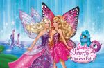 Barbie Butterfly E A Princesa Fada painel festa infantil banner (2)