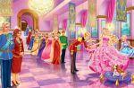 barbie escola de princesas painel festa infantil banner dkorinfest (5)