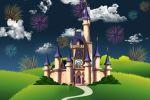 painel festa infantil banner castelo disney (2)