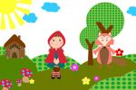 Chapeuzinho Vermelho painel festa infantil banner (9)